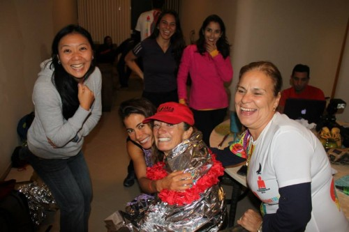 Mariane Uehara Marr and her friends treated Rick and me like family.  What an incredible reception after the race!